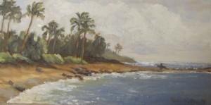 """Poipu Beach 8"""" x 16"""" $300"""