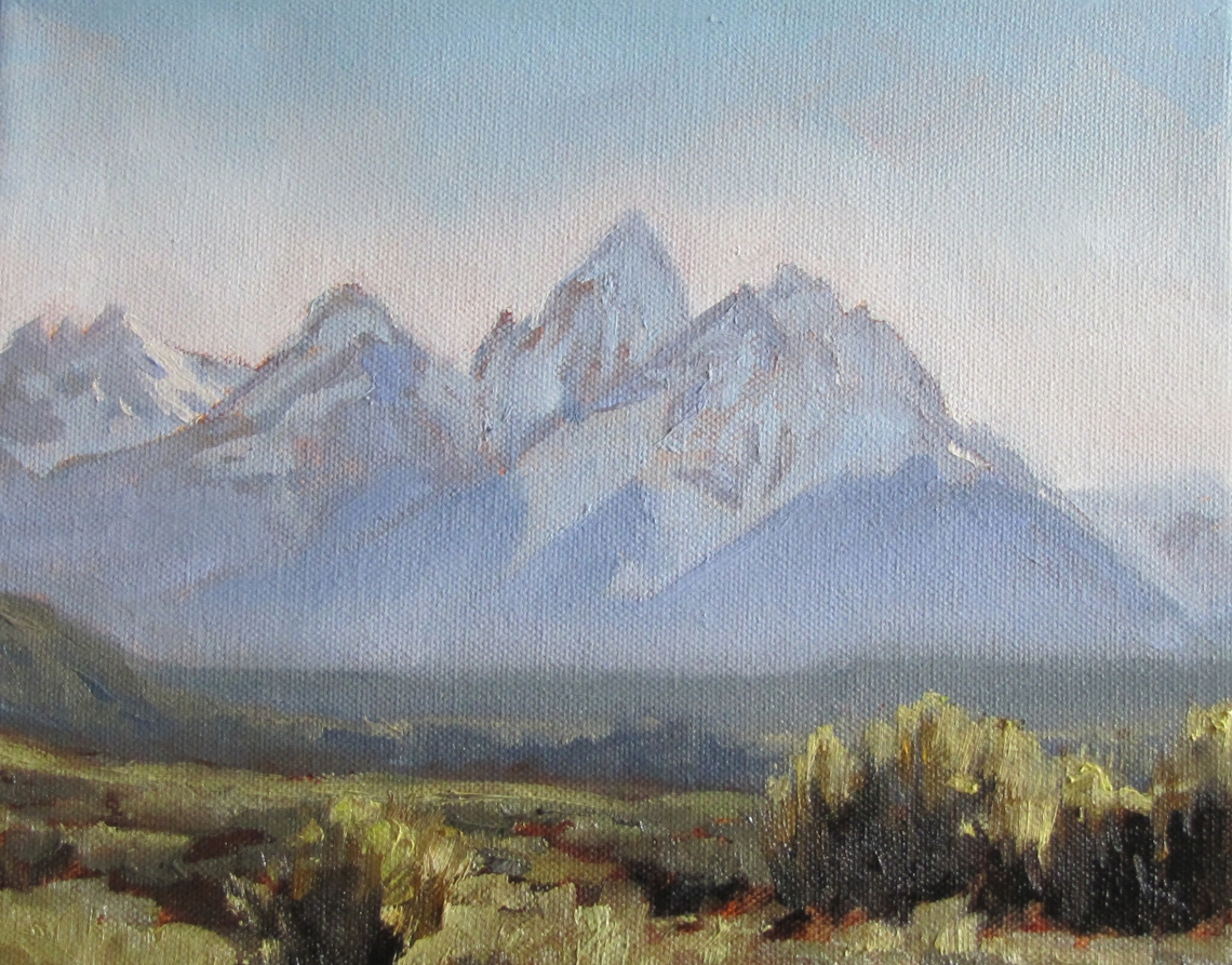 Just another Teton Painting